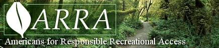 Americans for Responsible Recreational Access (ARRA) logo