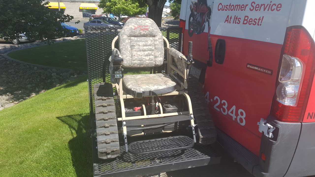 Off-Road Wheelchair image
