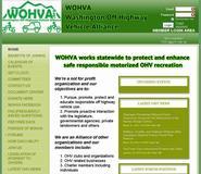 WOHVA honme page image